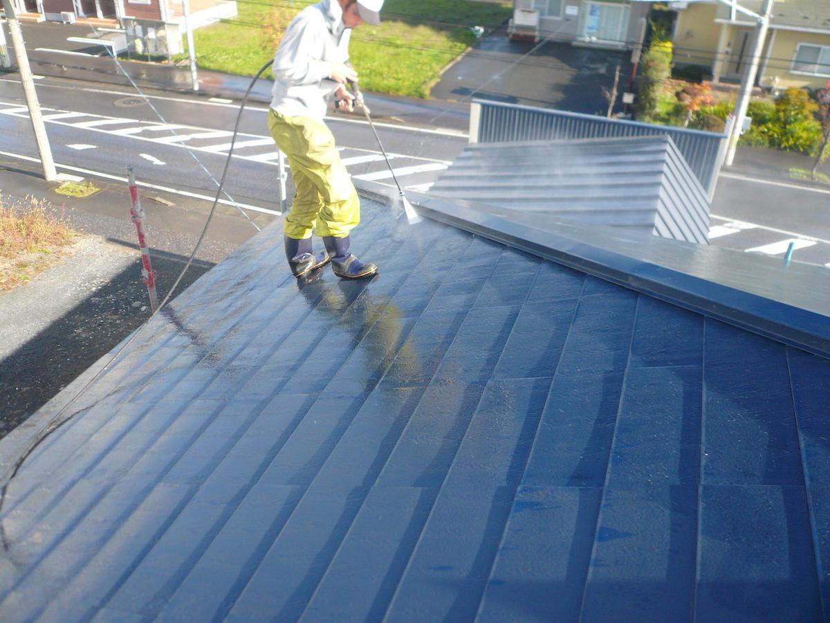 屋根塗装・洗浄