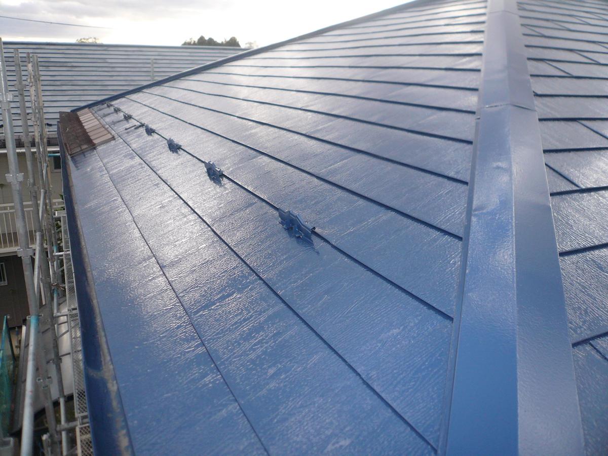 屋根塗装・完成